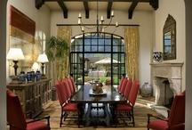 dining room / by Linda Hageman