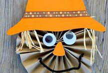 Kids Crafts - Autumn