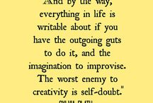 Writing / The magic of words and imagination.