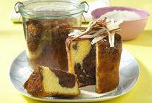 Kuchen im Glas / Kuchen im Glas, ein tolles Mitbringsel. Immer ein Stück Heimat dabei. Einfach Rezepte aber auch raffiniert! Kleine Kuchen sind immer lecker.