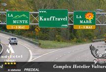KAUFTRAVEL - CONCURS- WEEKEND 1 MAI /  ~LOCUL I alege locatia pentru petrecerea de 1 Mai.  ~LOCUL II se va bucura de cealalta locatie de 1 Mai.  ---la mare in statiunea Venus, Hotel Vulturul ***, camera dubla. ---la munte in statiunea Predeal, Hotel Andy ****, camera dubla. perioada : vineri ,1 - duminica,3 Mai 2015.  detalii: facebook.com/kauftravel