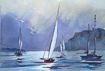 Sails - Paintings