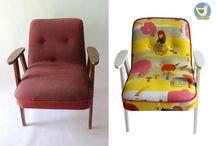 Rekoko / Vintage chairs, armchairs, easy chairs - renewed by my Rekoko company.