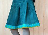 N 006 Tracht Röcke & Kleider Nähen