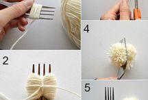 毛糸手芸色々