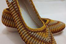 sepatu crochet