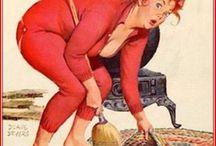 Over de top huisvrouwen