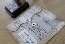 Artesanato em papel e moldes e outros materiais