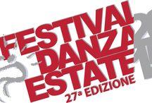 Festival Danza Estate 2015 / La grande kermesse Festival Danza Estate, nel 2015 alla sua XXVIIa edizione, è uno degli appuntamenti principali dello spettacolo dal vivo e l'unica rassegna dedicata alla danza contemporanea nella città di Bergamo.