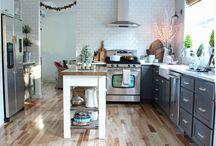 Pretty kitchen designs  / Kitchen design and accessories we love