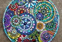Mozaik sehpa