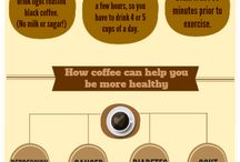 Coffee Infographics / Infographics on our favorite black brewed delight.