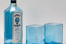 modelos de garrafas cortadas