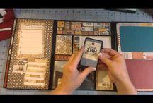 Scapbooking Folder Folios