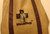 """Medi-Bag(R) & Shopping / Invented by a Physician:patient, the MediBag(R) is there as a non-disposable grocery bag. Ohhhh. But it is so much more. First of all, it encourages you to fill it with vegetables, fish, and anti-inflammatory foods that will decrease your chances of Pre-Diabetes or Diabetes. See more in Archives of the Vagina: A Journey through Time. My book.  And each one, most importantly, comes with an """"Ask a Doctor"""" Session to answer a general question."""