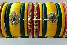 Laksh Silk Thread jewels