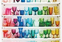 Rainbow Home Decor / Pep up your home with stylish, prismatic rainbow decor.