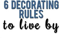 decorating rules