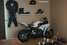 Motorcycles room