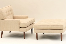 Mid Century Design - SEATING / Great seating for the mid century home.