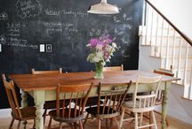 --Dining Rooms-- / Great eating spaces. / by Alicia Hutchinson
