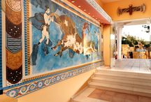 Minoan Amusement Park / The resort features the Capsis Minoan Amusement Park, 4000 sq m, the only one in Greece which features games and activities based on the Greek myths and combines fun and education with interactive games.