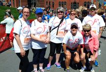 Scotiabank Blue Nose Marathon / Congratulations to our Nova Scotia team who helped raise $1110 for the Colorectal Cancer Association of Canada at the Scotiabank Blue Nose Marathon on May 16, 2015. Thank you to all Fabricville participants!