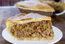 turkey and meat pies