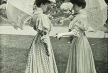 woman fashion 1900