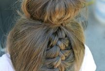 Hair style for dancing