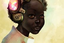 Afro Futurism at its best! / You can pin but please not pin everything on the board, thank you. / by STARR IVY