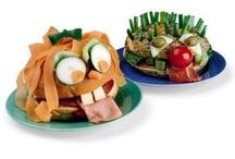 comidas niños / Divertidas comidas para despertar el apetito de los más pequeños.