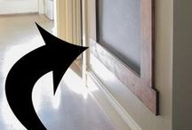 Picture Rails/chalk boards