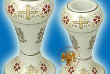Ceramic Orthodox Christian Art / Orthodox Art on Ceramic Porcelain Products
