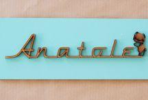 Prénom décoratif / Plaques de porte avec prénom à personnaliser selon ses envies !