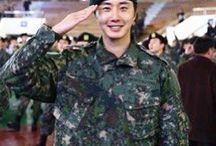 Jung Ilwoo Army Dec 2016 till Dec 2018