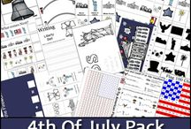 Patriotic Holidays / Homeschool resources and ideas to help teach about the American and Canadian patriotic holidays
