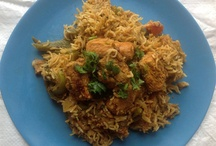 Biryani Recipes / Biryani is special flavored Indian rice dish. Biryanis are made with basmati rice and chicken/fish/meat/vegetables and loads of spices.