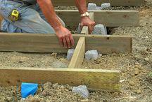 building a deck / by Brenda Santana