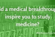 My Inspiration To Be A Doctor / Following the launch of our #MyReasonToBeADoctor competition, we have had lots of people share their inspiration to apply to medicine and become a doctor. We'll share ours, what's yours?