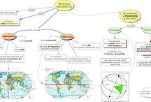 Geografia / Mappe e schemi per la classe prima ITIS