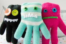 Soft toys / Glove monsters