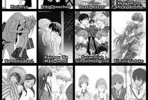 mostly shoujo/romance manga