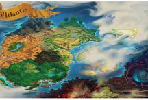 Chartography / Fantasy map for writer