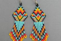 Fave earrings / Beaded earrings