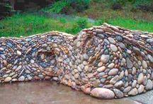 Ciekawe ściany / Ściana z kamienia