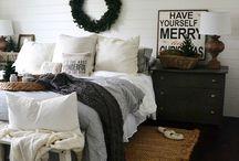 Christmasdecorbedroom / Bedroomchristmas