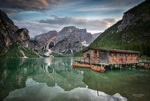 Braies Lake Dolomites