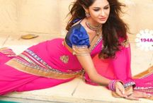 Buy Traditional Sarees Online / Jugniji.com : A huge sparkling collection of Indian ethnic wear in our attention-grabbing online showroom whose variety is growing every month.## http://goo.gl/fOdU6F