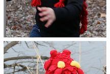 вязание. крючок. шапки